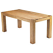 Chunky Oak Dining Table 1.8m