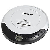 Groov-e Portable CD Player, Silver