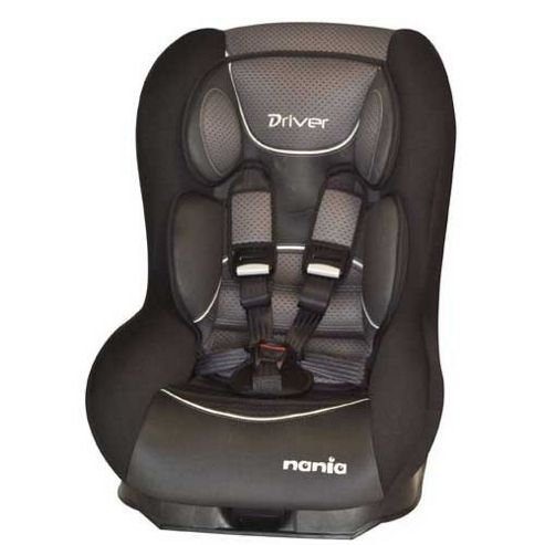 Nania Driver Graphic Black Car Seat, Group 0-1