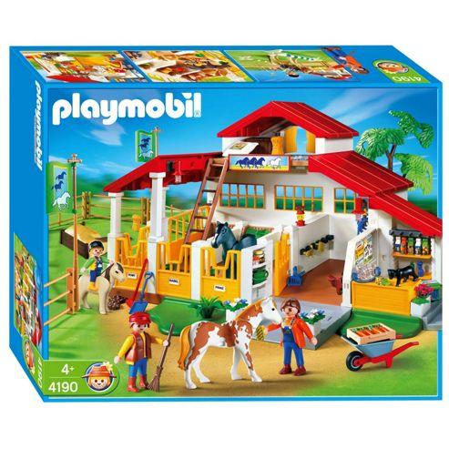 Playmobil 4190 Pony Ranch Horse Farm