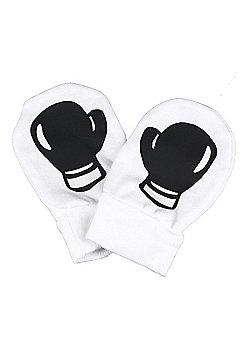 Spoilt Rotten - Boxing Gloves Design 100% Organic Cotton Scratch Mittens