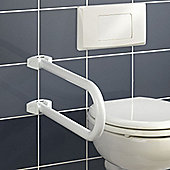 Wenko Secura Bathroom Grab Bar in White