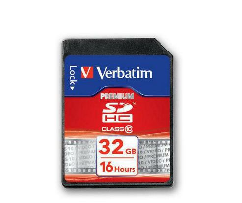 Verbatim 32GB SDHC Card