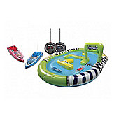 Radio Controlled Inflatable Race Boats