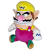 "Official Nintendo Mario Plush Series Stuffed Toy - 9"" Wario"