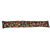 Woven Magic 11733 Patch Quilts Dark Plaids Draught Excluder