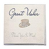 Bliss Wedding - Great Usher Wedding Card