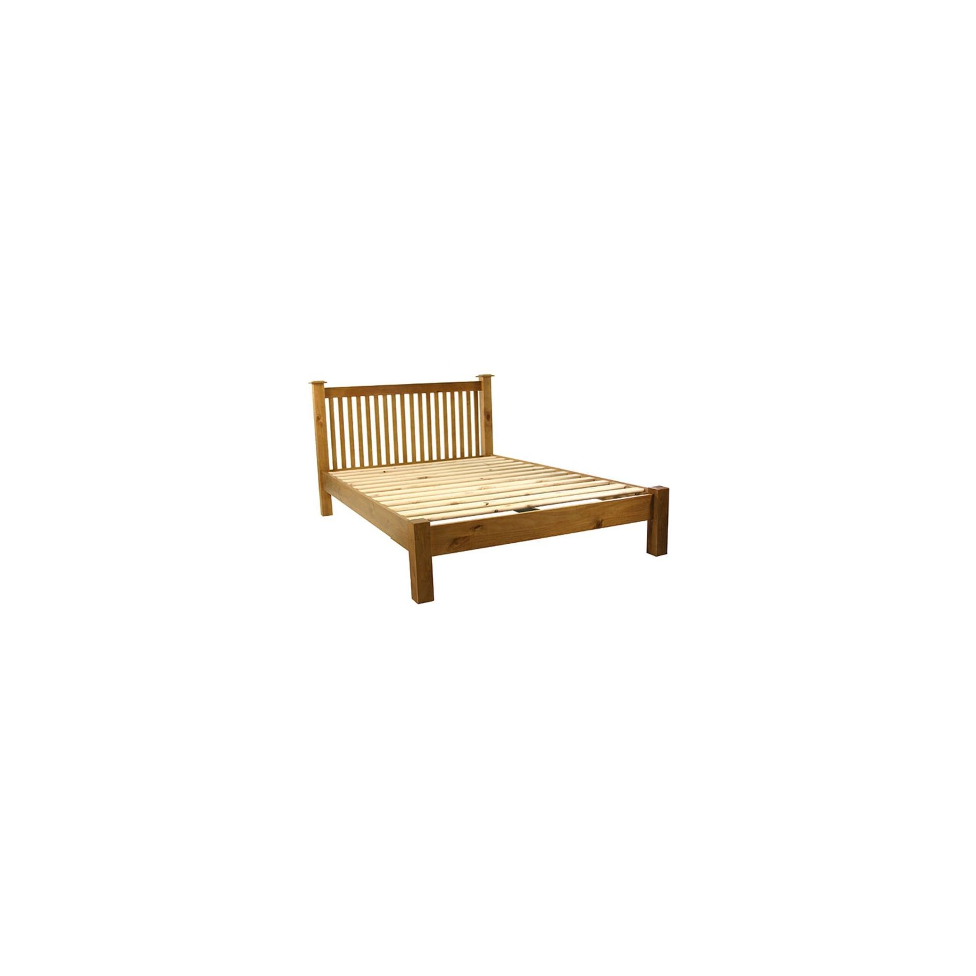 Kelburn Furniture Pine Low Foot End Bed Frame - Double at Tesco Direct