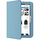Techair Folio Stand Case (Blue) for Samsung 7 inch Galaxy Tab 4