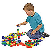 Melissa & Doug 100 Colourful Wooden Blocks