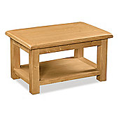 Zelah Oak Coffee Table - Rustic Oak