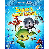 Sammy'S Great Escape (Blu-Ray 3D + Blu-Ray + DVD + Uv Copy)