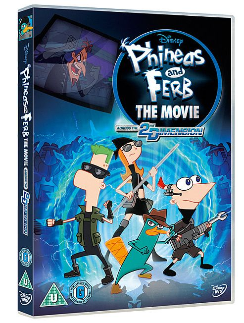 Phineas & Ferb - Across the Second Dimension