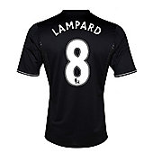 2013-14 Chelsea Third Shirt (Lampard 8) - Black