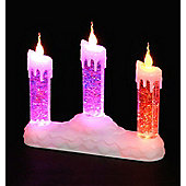Battery Operated Colour Changing Water Filled Candles