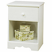 South Shore Summer Breeze 1 Drawer Bedside Table