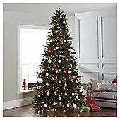 Dobbies 10ft Pre-Lit Christmas Tree, Loch Tay