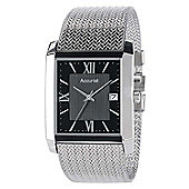Accurist Mens Stainless Steel Mesh Watch - MB903B