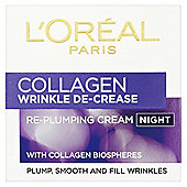 L'Oréal Wrinkle De-Crease Night Cream 50ml