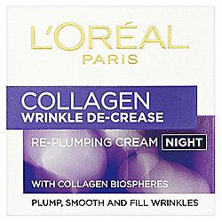 L'Oréal Wrinkle De-Crease Night Cream 50ml