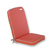 Glencrest Seatex Bespoke Seat Pad with Back Cushion - Terracotta