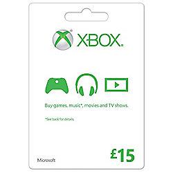 Xbox Gift Card FPP English UK 15 GBP