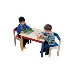 Guidecraft Moon and Stars Table and Chair Set