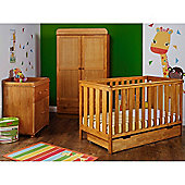 Obaby York 3 Piece Furniture Set - Country Pine