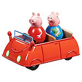 Peppa Pig - Weebles Peppas Wobbily Car