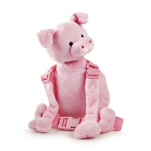 Goldbug Piglet Baby Backpack with Baby Reins