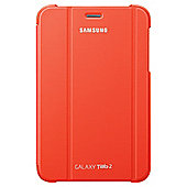 "Samsung Notebook Galaxy Tab 2 Cover 7"" Orange"