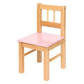 Bigjigs Toys BJ334 Wooden Chair (Pink)