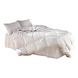 Super King Luxury Duck Feather And Down Duvet 100% Cotton Cover 13.5 Tog