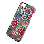 Tortoise™ Hard Protective Case, iPhone 5/5S, Tropical Floral design ,Green