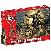 WWII British Commandos (A02705) 1:32