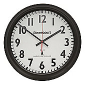 Large Radio Controlled Easy-to-See Wall Clock