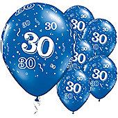 11' 30th Around Sapphire Blue (25pk)