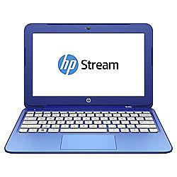 "HP Stream 11-d015na Laptop, 11.6"", Intel Celeron, 2GB RAM, 32GB - Blue"