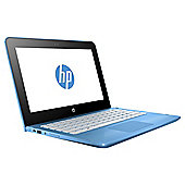"HP 11.6"" 11-ab000na X360 Intel Celeron 4GB RAM 500GB HDD Aqua Blue 2 in 1 Laptop"
