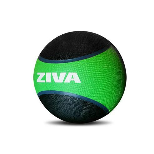 Ziva Medicine Ball - 1kg (Black and Green)