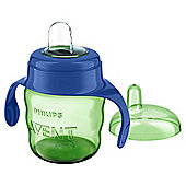 Philips Avent 7oz Easy Spit Spout Cup in Blue SCF551/15