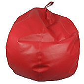 Ashcroft Classic Medium Indoor Bean Bag - Red