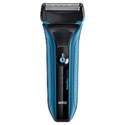 Braun WaterFlex WF2s blue Wet & Dry electric shaver with swivel head