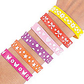 Funky Wrist Bands (Pack of 12)