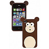 Trendz iPhone 4 and iPhone 4S Monkey Character Case (Brown)