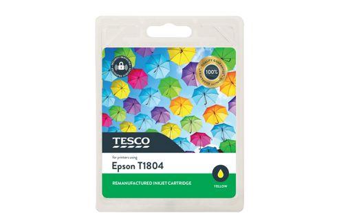 Tesco E1804 Printer Ink Cartridge Yellow