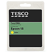 Tesco (Epson T1804) printer ink cartridge - Yellow