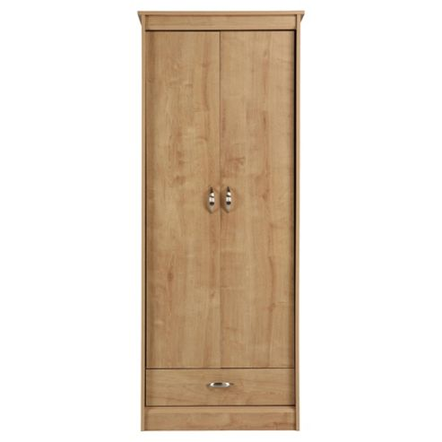 Thornton 2 Door Wardrobe,  Oak Effect