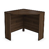 Urbane Designs Jazz Corner Computer Desk in Walnut