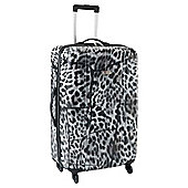 Revelation by Antler Zygo 4-Wheel Hard Shell Suitcase, Clouded Leopard Large